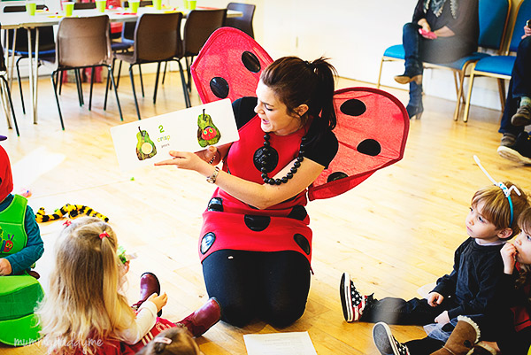 A bug themed party 12