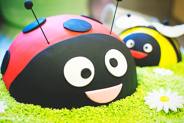 A bug themed party 24