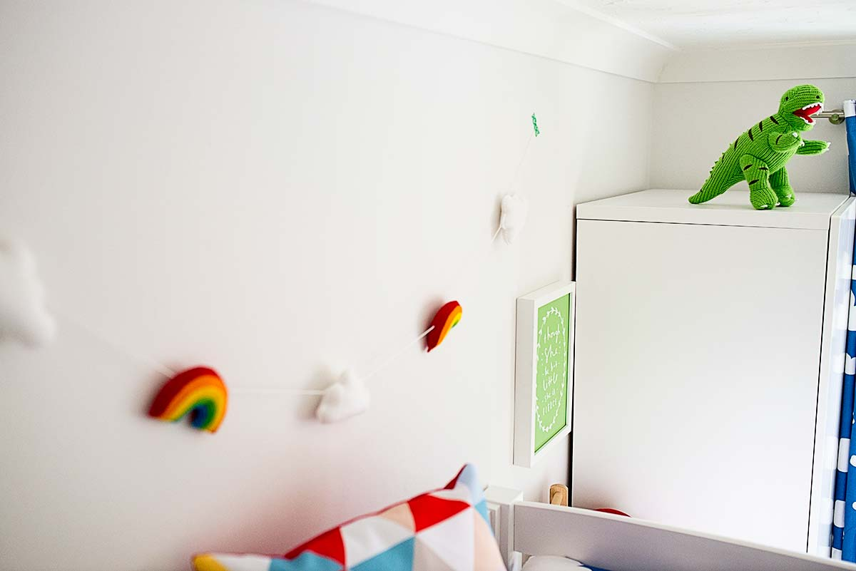 Rainbow bedroom 18
