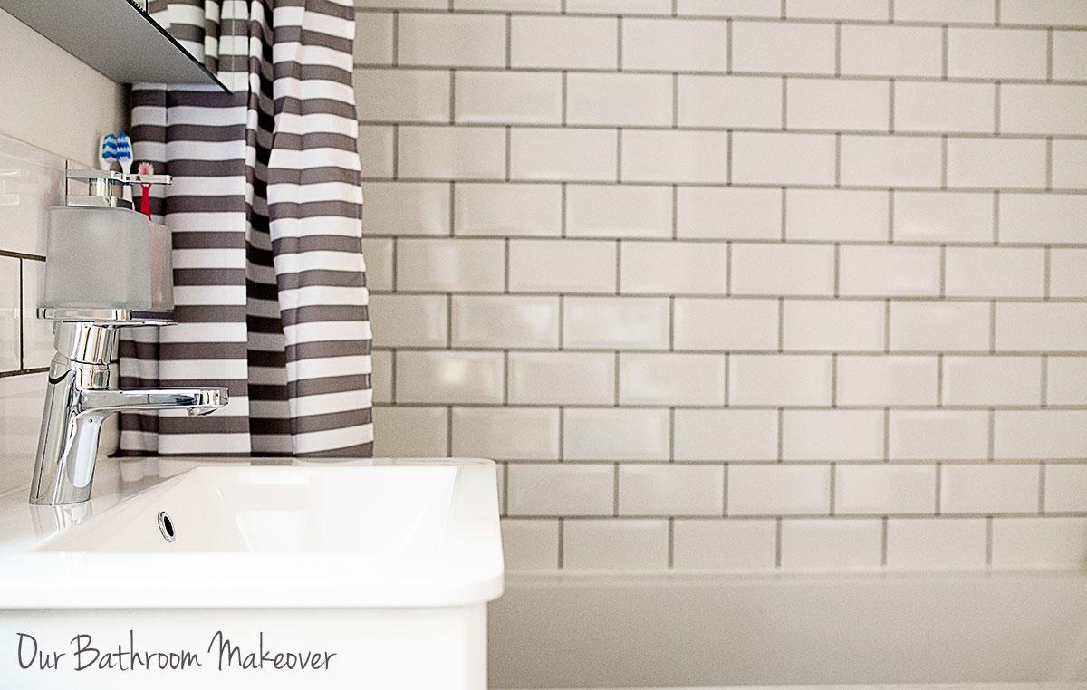 a bathroom renovation