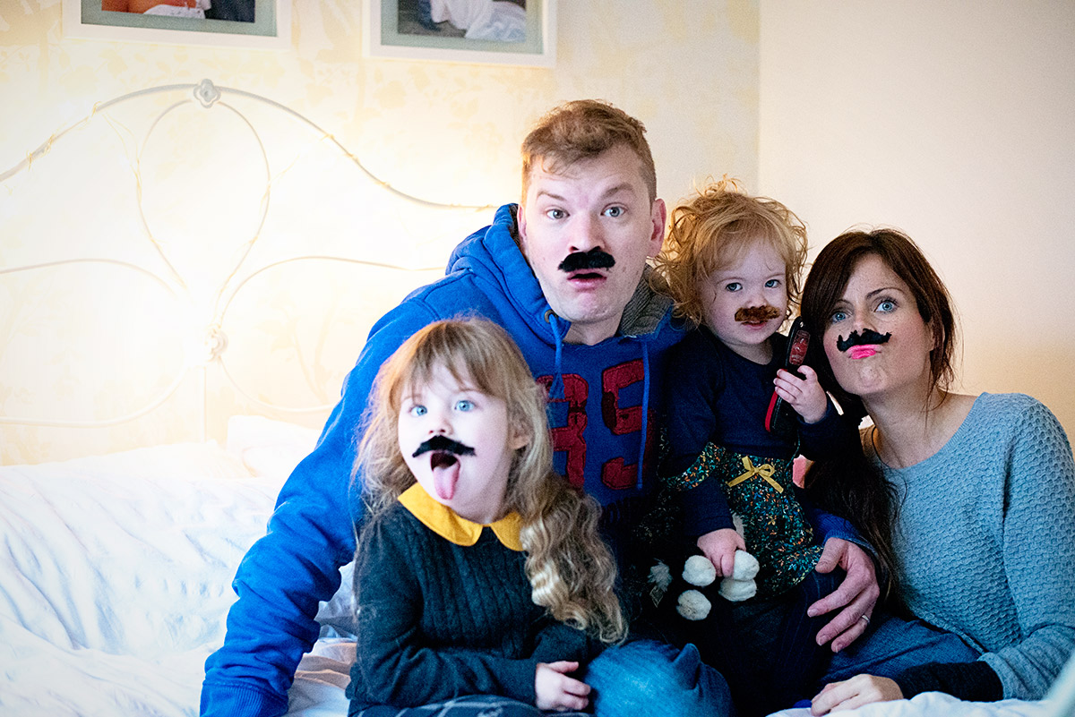 a family of moustaches 1