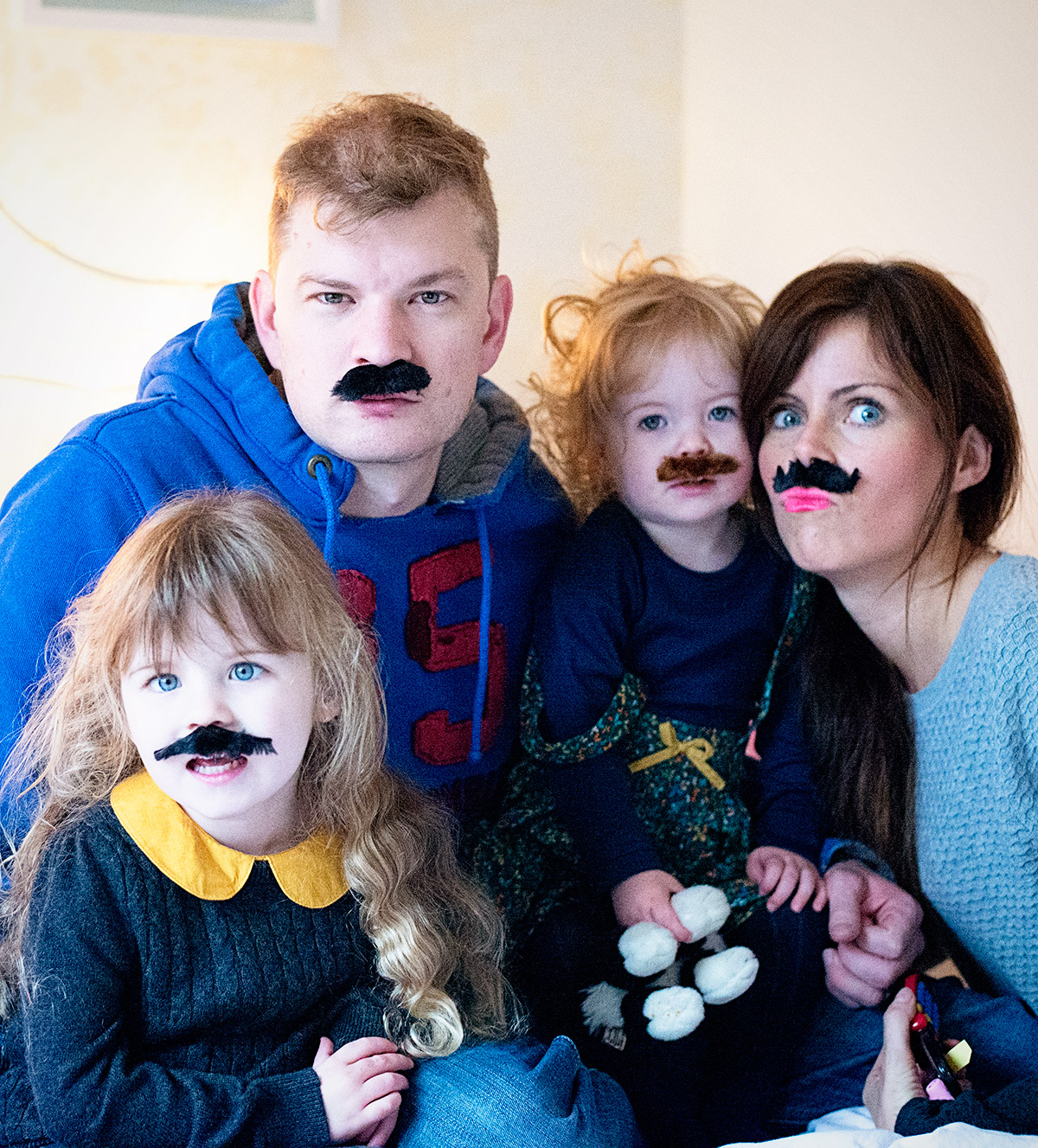 a family of moustaches 2