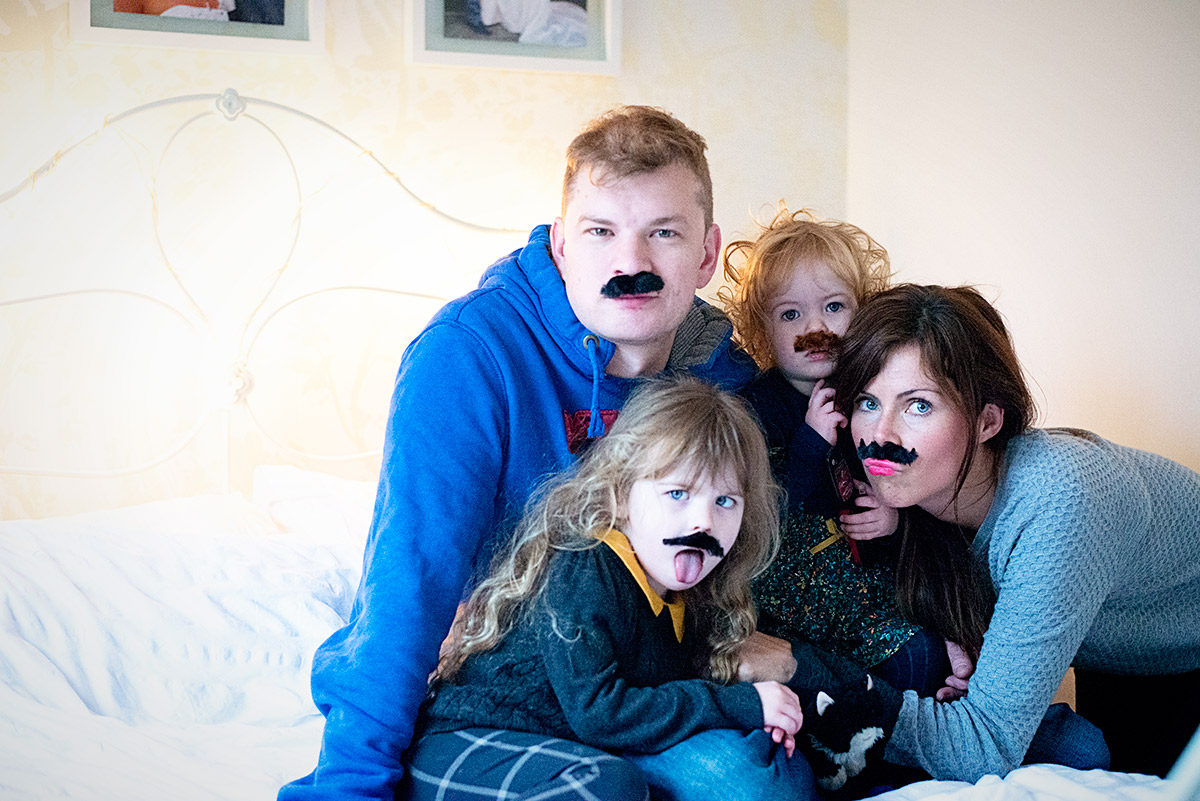 a family of moustaches 3