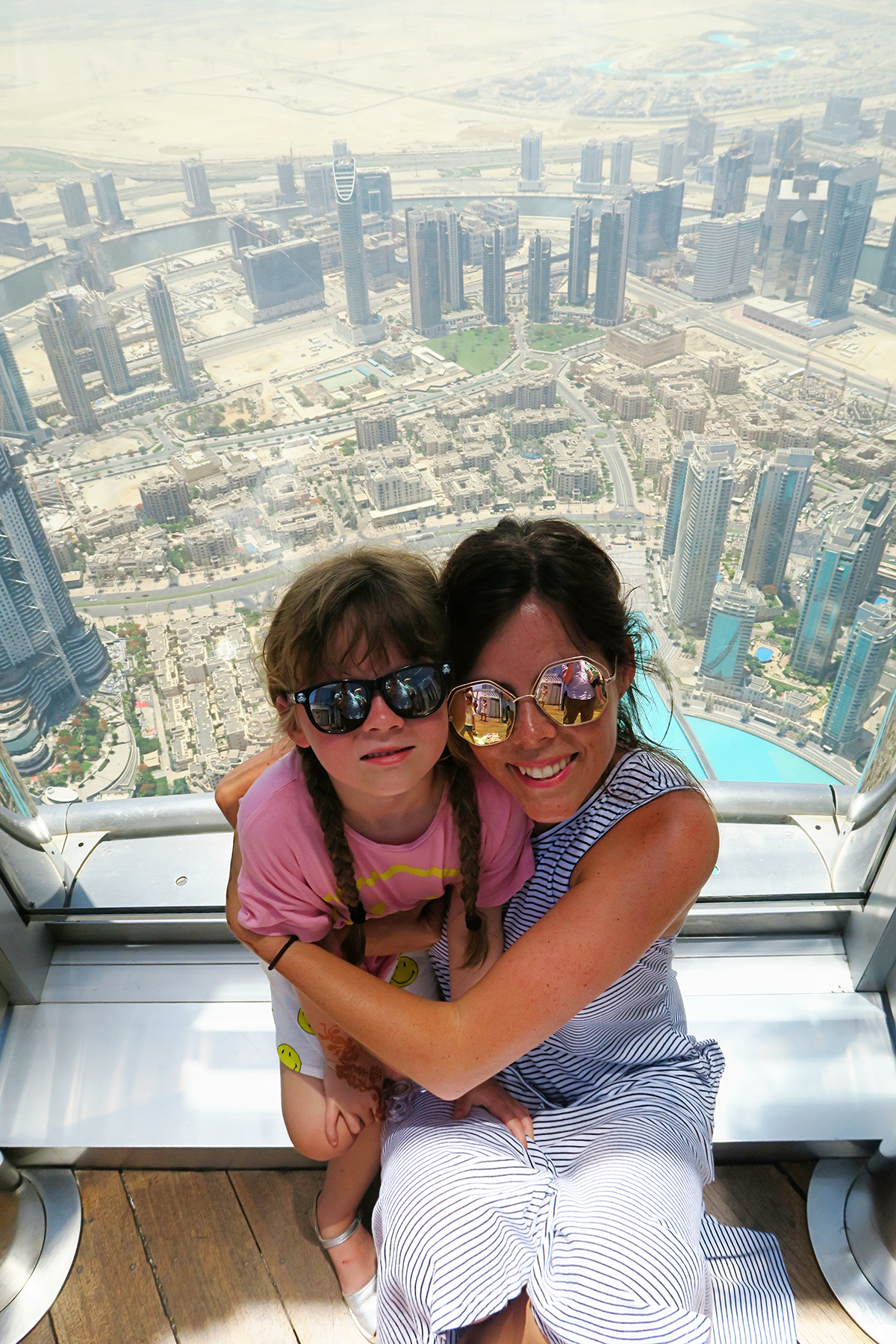 Up the Burj Khalifa, Dubai Mall & The Burj al Arab