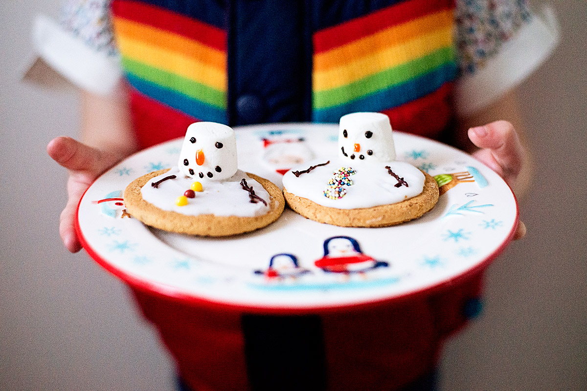 melted snowman cookies 2