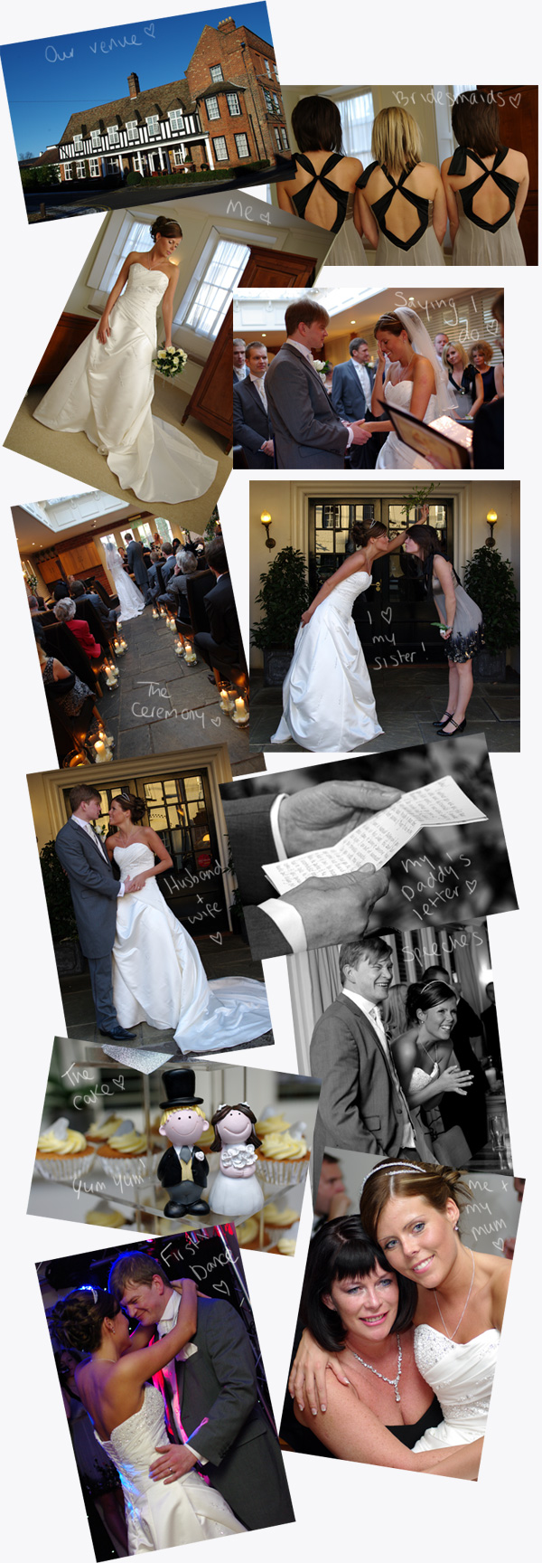 ourweddingdaycollage