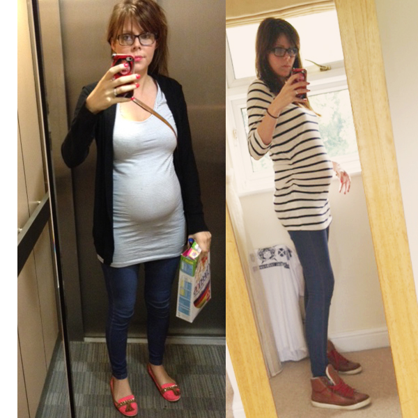 how to make yourself look pregnant with clothes