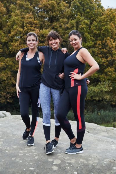 Getting fit in 2018 and 'modelling' for a day with F&F