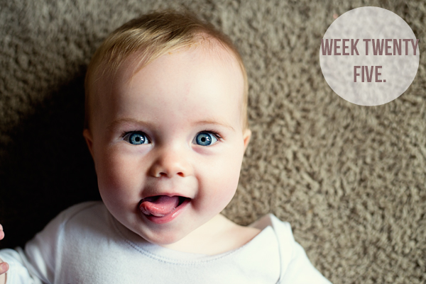 The Baby Diaries- Week Twenty Five.
