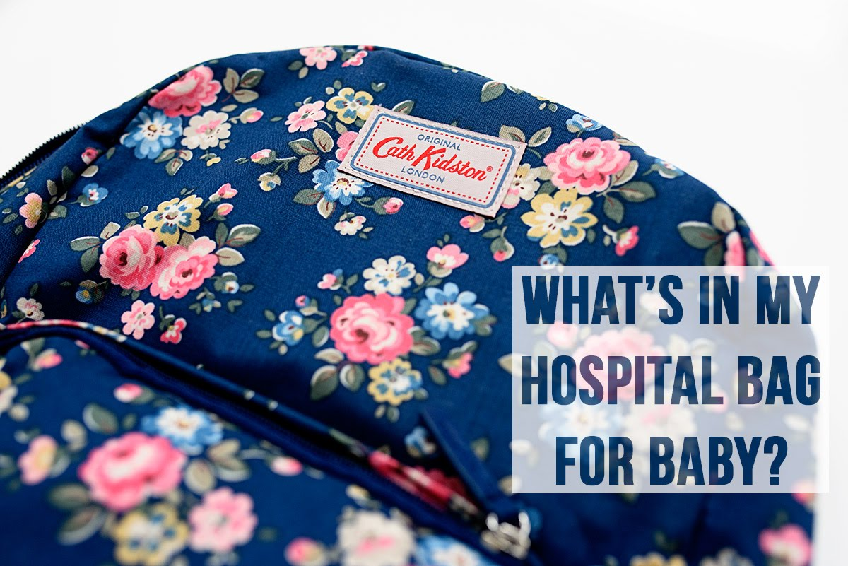 What I am Packing in my Hospital Bag: For Baby